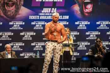 Tyson Fury wasn't doing well in the gym says Michael Hunter