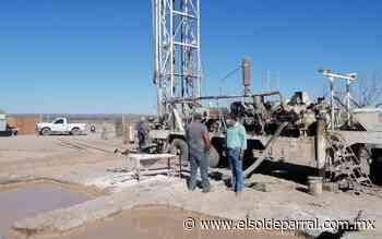 Avanza obra de tinaco elevado para agua en Jiménez - El Sol de Parral