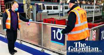 No traces of coronavirus found in tests at major English railway stations - The Guardian