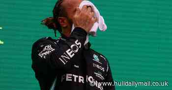 Covid complaints from Lewis Hamilton in Hungary