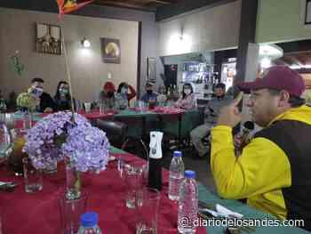 Hugbel Roa sostiene encuentro con gremio periodístico de Boconó - Diario de Los Andes