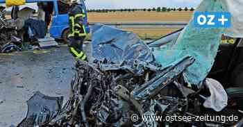 B105 bei Ribnitz-Damgarten: Schwerer Verkehrsunfall mit mehreren Verletzten - Ostsee Zeitung