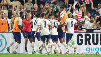 U.S. beats Mexico in ET in thrilling Gold Cup final