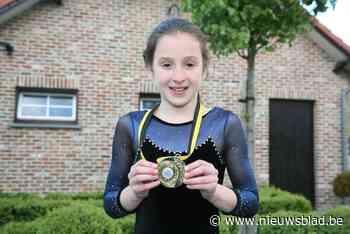 Toen al goud: Nina al als tienjarige kampioen in uw krant