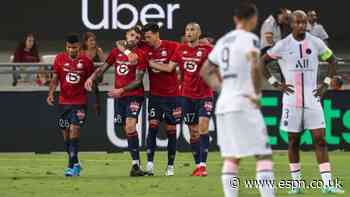Lille down PSG to win French Champions Trophy