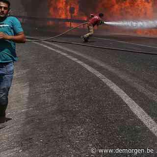 Nooit geziene bosbranden teisteren Zuid-Europa: 'Een stevige waarschuwing'