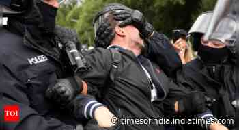 Berlin protesters decry Coronavirus measures, 600 detained - Times of India