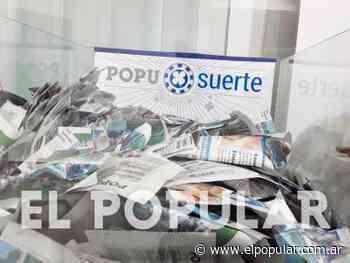El PopuSuerte se fue para Roca Merlo y Belgrano - El Popular