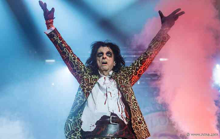 Alice Cooper-themed colouring book set to be released later this month