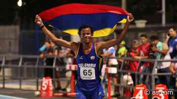 Carlos San Martín, el primer colombiano en Atletismo - AS