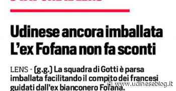 Corriere dello sport: Udinese ancora imballata | Udinese Blog - Udinese Blog