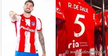 Rodrigo De Paul sceglie la maglia numero 5 | Udinese Blog - Udinese Blog