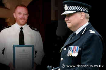 Sussex Police officers kicked out in secret by chief constable