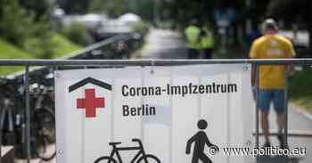 Germany eyes coronavirus boosters, vaccines for minors - POLITICO Europe