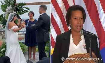DC Mayor Muriel Bowser slammed for going mask less to wedding