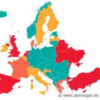 Grote delen van Frankrijk en Griekenland kleuren rood: dit zijn de laatste reisadviezen