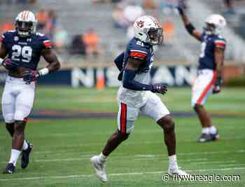 Auburn football: Seniors earn Iron Man of the Week for the second time - Fly War Eagle