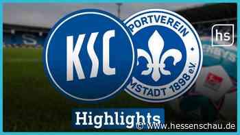 Video: Spielbericht: Darmstadt in Karlsruhe ohne Chance   hessenschau.de   Videos - hessenschau.de
