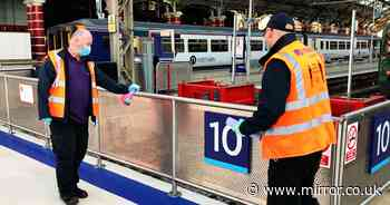 No traces of coronavirus found in tests at four major UK railway stations