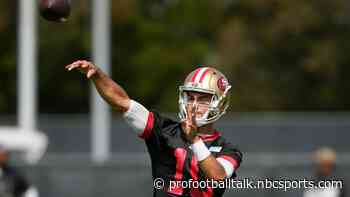 Kyle Shanahan: If Jimmy Garoppolo plays his best, I don't know if any rookie can beat him out