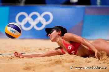Canada keeps rolling in women's beach volleyball with two teams in quarters