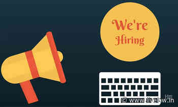 Senior Research Officer Vacancy At TRAI - Live Law - Indian Legal News