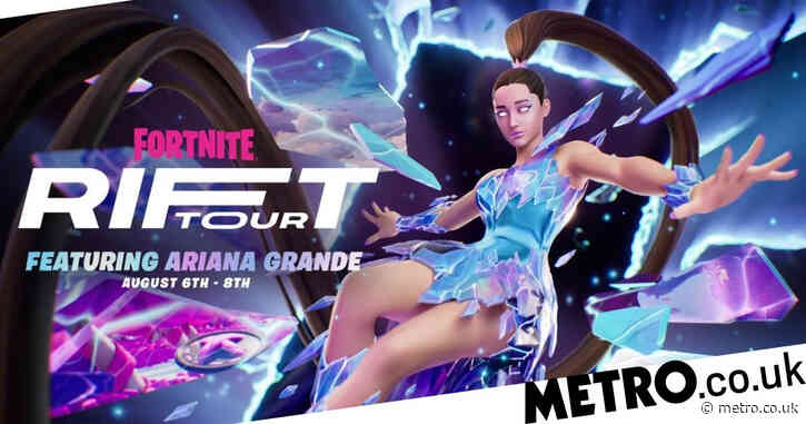 Ariana Grande Fortnite Rift Tour concert starts this week with possible Juice Wrld tribute