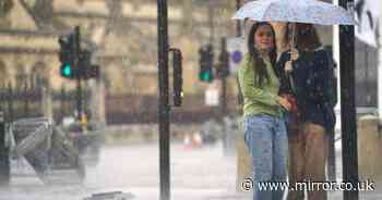Flash flooding and lightning to hit today with sudden Met Office storm warning
