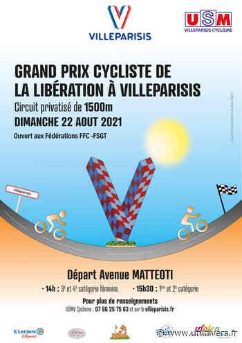 Grand prix cycliste de la libération Mairie Villeparisis dimanche 22 août 2021 - Unidivers