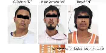 Detienen a tres con droga en Jiutepec - Diario de Morelos