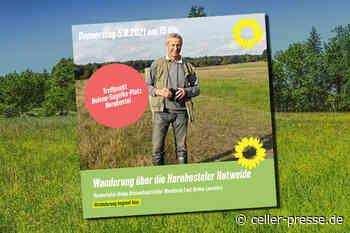 Wanderung über die Hornbosteler Hutweide mit Heiner Lammers - Celler Presse