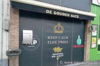 """De Gouden Saté in Overpoort verbouwt: """"Ga frieten zelf twee keer bakken"""""""