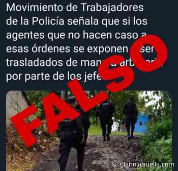 PNC desmiente publicaciones sobre supuesta prohibición de intervenir pandilleros en Apopa - Diario La Huella