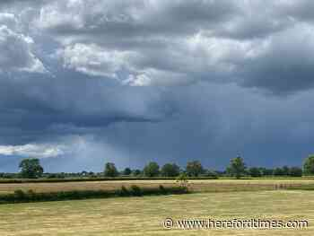 Met Office weather warning as storm set to hit Herefordshire