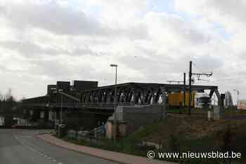 Spoorverkeer gehinderd door werken aan Temsebrug