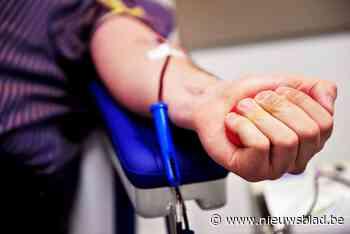 Bloeddonatie in administratief centrum