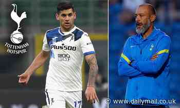 Romero wants to leave Atalanta for Tottenham as Spurs make improved bid for centre back