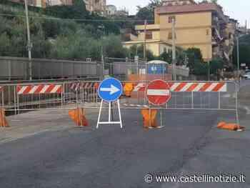 VELLETRI - Ancora chiusa via Fontana delle Fosse. L'assessore Favetta fa chiarezza sulle cause - Castelli Notizie