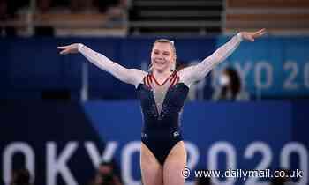 US gymnast Jade Carey wins GOLD in the floor exercise final