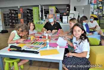 Kinderen beleven fijne workshop met auteur en illustrator Jan De Kinder - Het Nieuwsblad