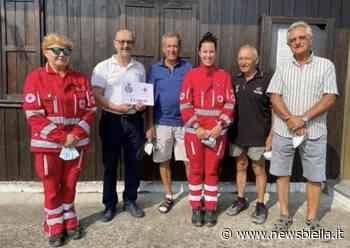 Bel gesto Centro Battiana di Cossato, donazione per la Croce Rossa locale - newsbiella.it