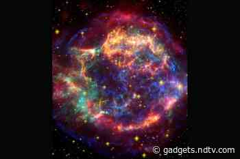 NASA Shares Captivating Picture of a Supernova Remnant, Calls It 'A Kaleidoscope of Colour'