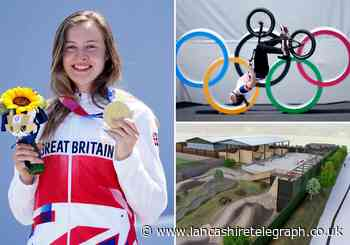 Olympic gold medallist praised by Darwen skatepark where she has trained