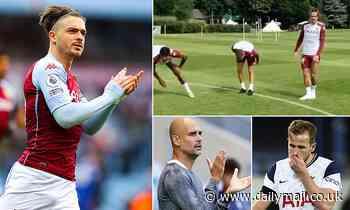 Jack Grealish returns to Aston Villa training amid Manchester City's £100m move to sign him