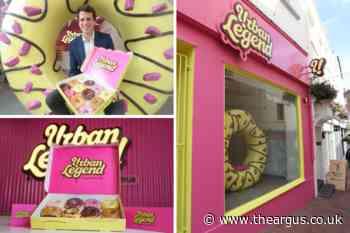 Doughnut bakery Urban Legend opens first shop in Brighton