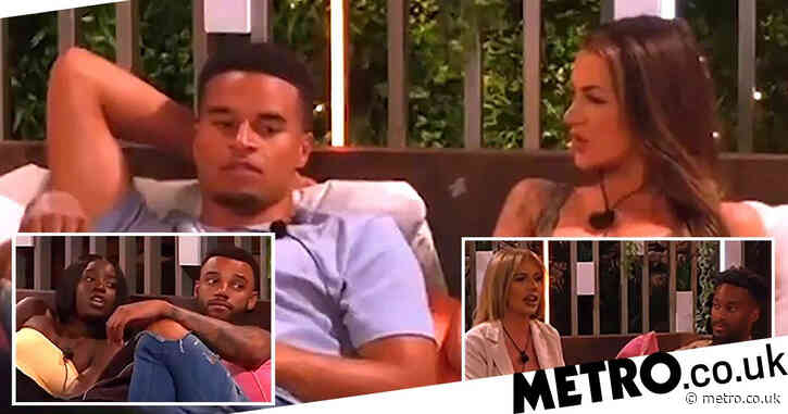 Love Island 2021: Toby Aromolaran thinks you can 'manifest' your shoe size and we've absolutely lost it