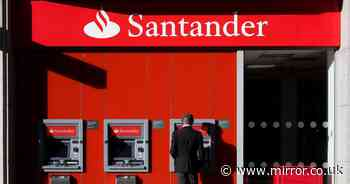 Santander closing 26 bank branches this month in high street shake-up