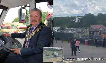 Pictured: Former mayor in his 60s who was hit and killed at Brands Hatch circuit