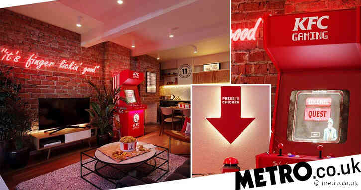 Big fan of fried chicken? You could stay in a KFC-themed hotel in London