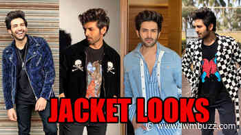 Kartik Aaryan Surely Knows How To Style His Tees With Jackets Effortlessly - IWMBuzz